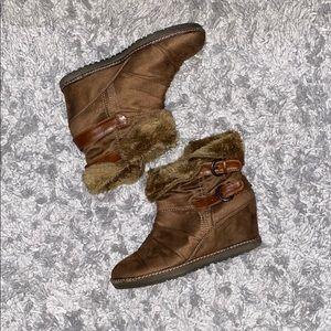ALDO Rabasova Wedge Boots